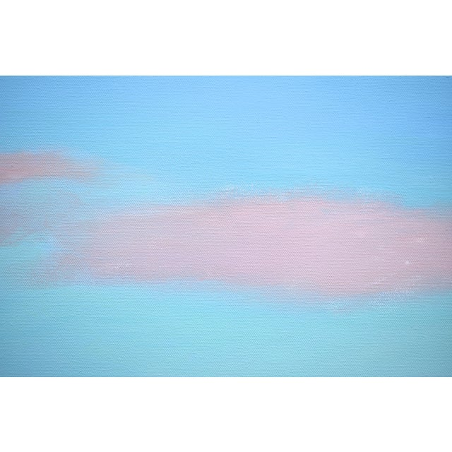 """Stephen Remick Modern """"Layered Clouds"""" Contemporary Painting by Stephen Remick For Sale - Image 4 of 11"""