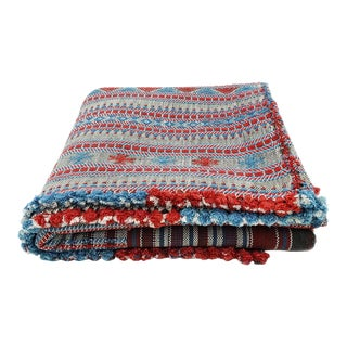 100% Sustainable Organic Cotton Woven Throw Bedcover