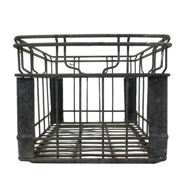 Industrial Square Metal Crate - Image 4 of 5