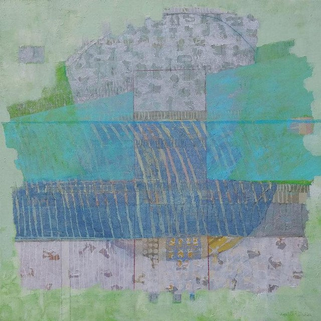 2010s Christine Averill - Green, Serene and Cool, 2018 For Sale - Image 5 of 5