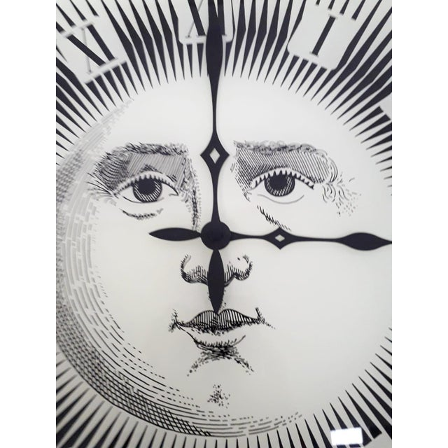 Modern Wall Clock by Fornasetti For Sale - Image 3 of 6