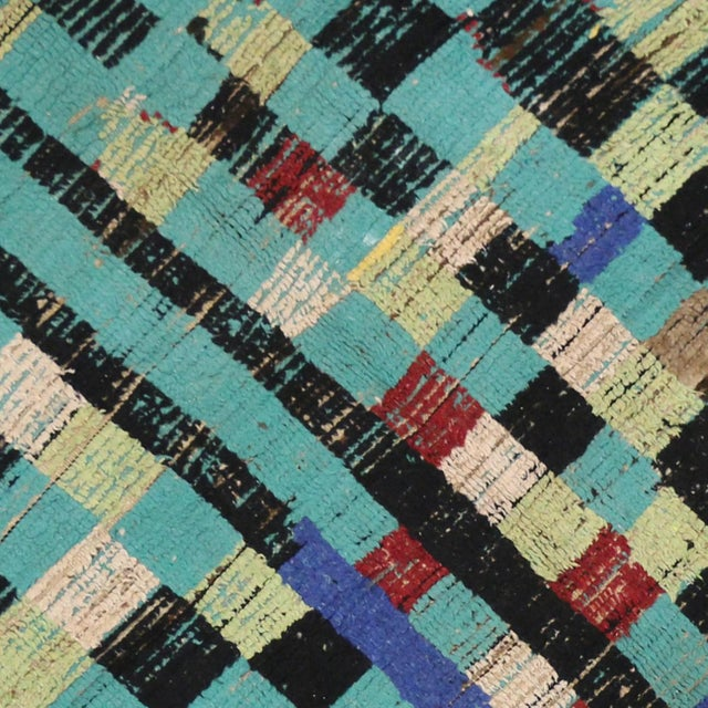 Boho Chic Vintage Berber Moroccan Rug with Modern Tribal Style, 04'05 x 07'06 - Image 5 of 9