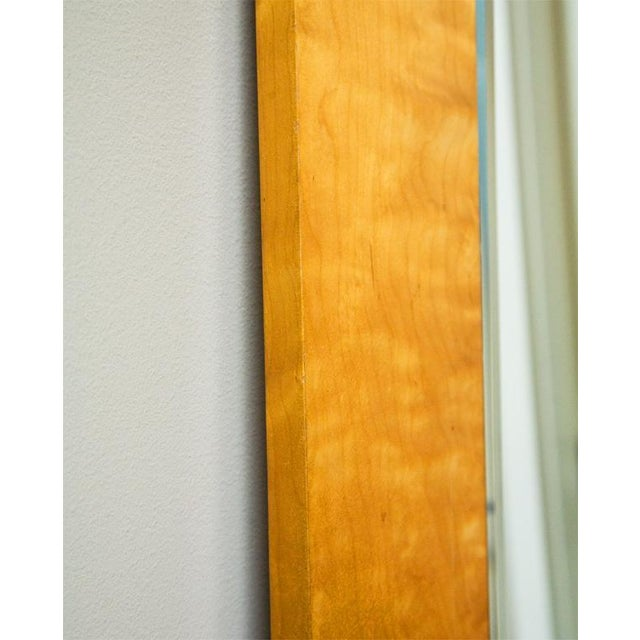 Birch Pair of Swedish Art Deco Mirrors, Early 20th c For Sale - Image 7 of 8
