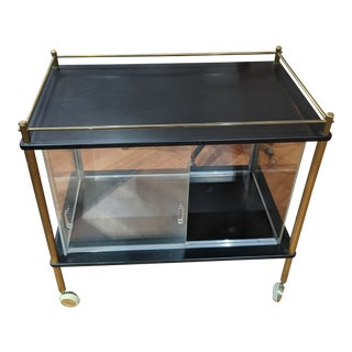 Mid 20th Century Maxwell Phillips Bar Cart For Sale