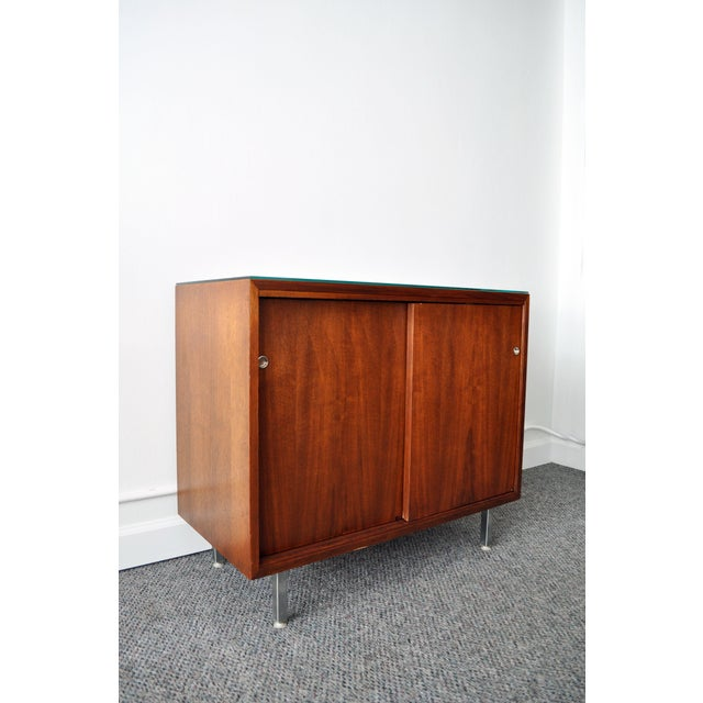 Mid-Century Modern Walnut Cabinet - Image 2 of 10