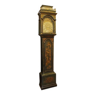 Georgian Chinoiserie Tall Case Clock For Sale