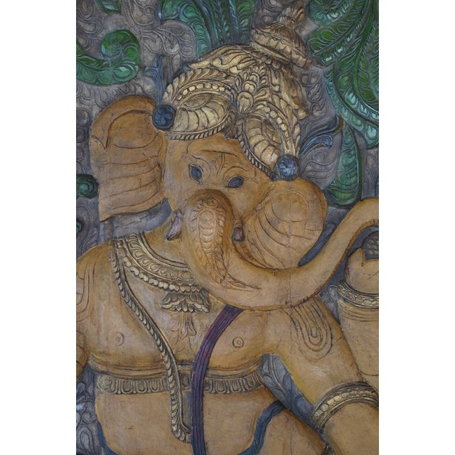 """Vintage Hand Carved Ekadanta Ganapati as the name suggest """"single tusked"""" Ganapati. This form is special as He is having a..."""