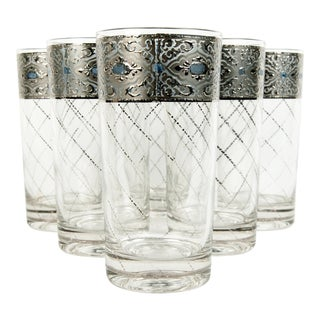 Vintage Drink Glasses - Set of 6