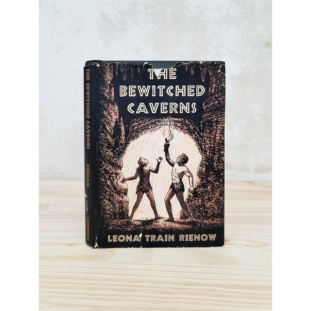 Black 1940s The Bewitched Caverns Book For Sale - Image 8 of 8