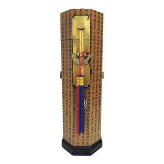 20th century Korean Brass Brush Storage Box