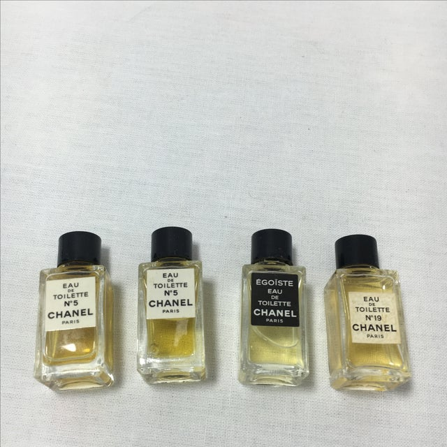 Chanel Vintage Collection of Mini Chanel Perfumes - Set of 9 For Sale - Image 4 of 6