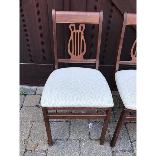 Vintage Stakmore Harp Back Chairs - Set of 4 - Image 3 of 6 - Vintage Stakmore Harp Back Chairs - Set Of 4 Chairish
