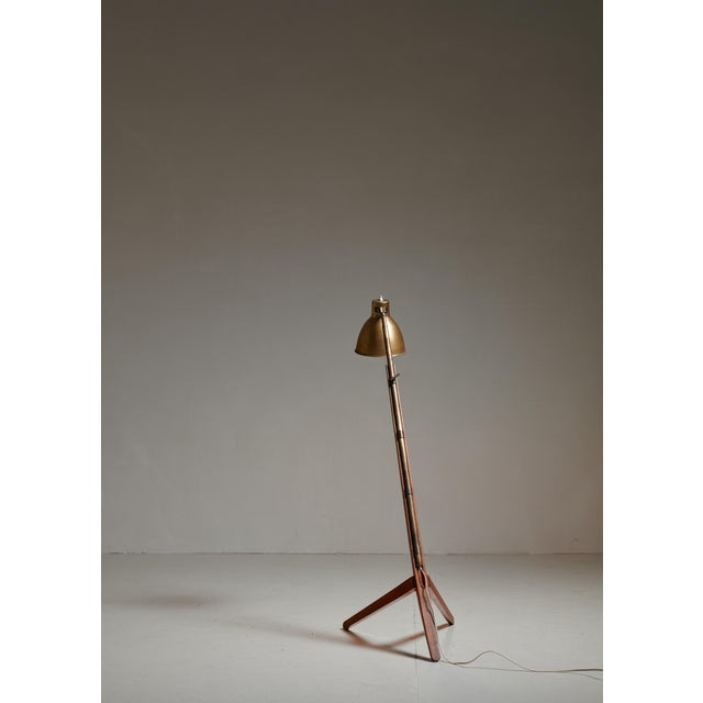 1940s Franco Albini Very Rare Mitragliera floor lamp, Italy, 1940 For Sale - Image 5 of 7