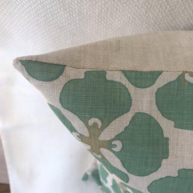 Contemporary Galbraith & Paul Linen Pillows - A Pair For Sale - Image 3 of 7