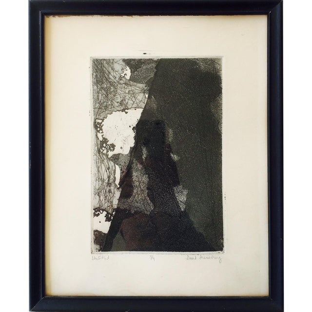 Vintage Original Abstract Lithograph - Image 1 of 7