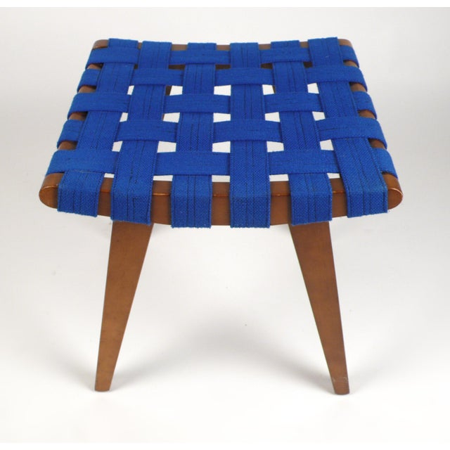 Jens Risom Stool or Ottoman For Sale - Image 5 of 5
