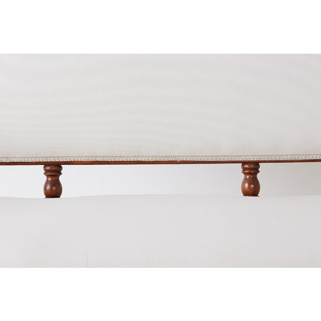 19th Century English Barley Twist Sofa Settee For Sale In San Francisco - Image 6 of 13