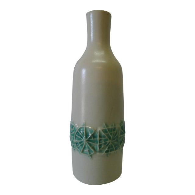 20th Century Danish Modern Ceramic Cabinet Vase For Sale