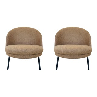 Claesson Koivisto Rune for Artflex Jules Slipper Chairs - a Pair For Sale