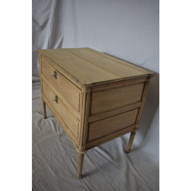 French Early 19th Century French Bleached Directoire Commode For Sale - Image 3 of 6