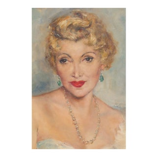 Zsa Zsa Gabors Mother Jolie by Pal Fried For Sale