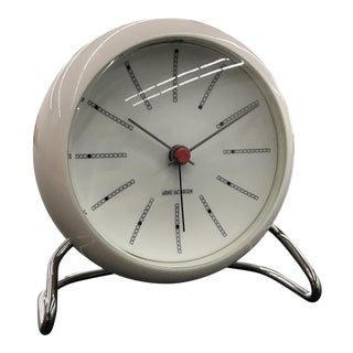 Table Clock With Alarm by Arne Jacobsen