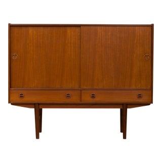 1960s Vintage Mid-Century Modern Teak Sideboard For Sale