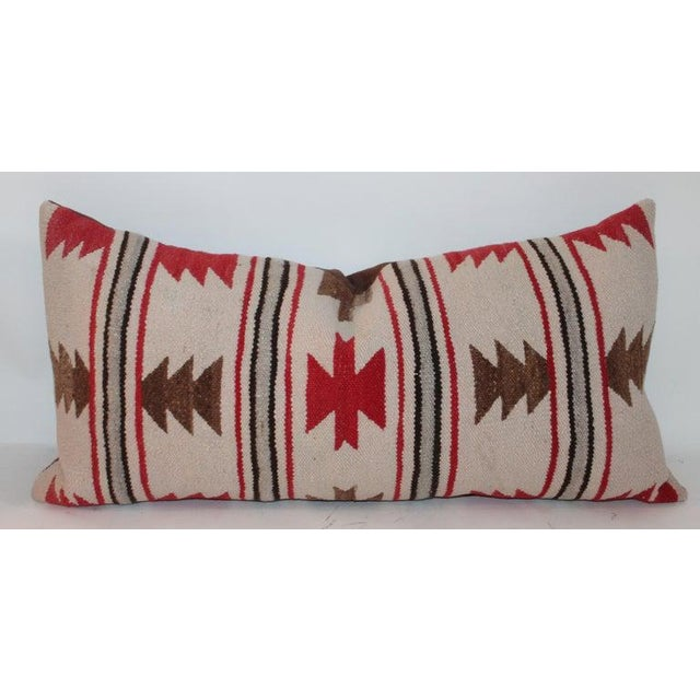 Navajo Indian Saddle Blanket Pillows - Set of 3 For Sale In Los Angeles - Image 6 of 11