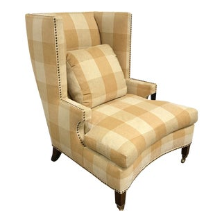 RJones Wingback Waternish Chair For Sale