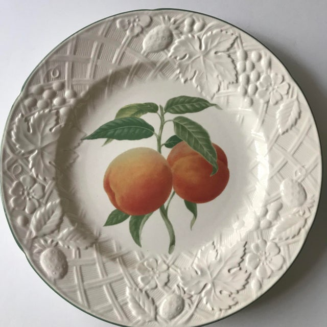 Two beautiful salad size plates from Mikasa in the English Countryside pattern. They each feature beautifully painted...