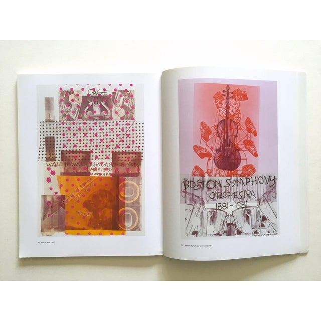 """ Rauschenberg Posters "" Rare First Edition Collector's Lithograph Print Modern Art Book For Sale - Image 11 of 13"
