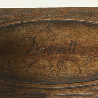 1920's Carved Miniature Folding Table Preview