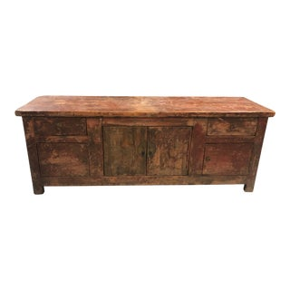 Antique Qing Dynasty Low Table For Sale