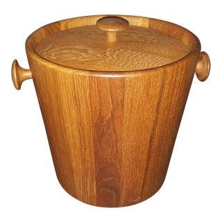 1960s Mid-Century Modernist Ice Bucket For Sale
