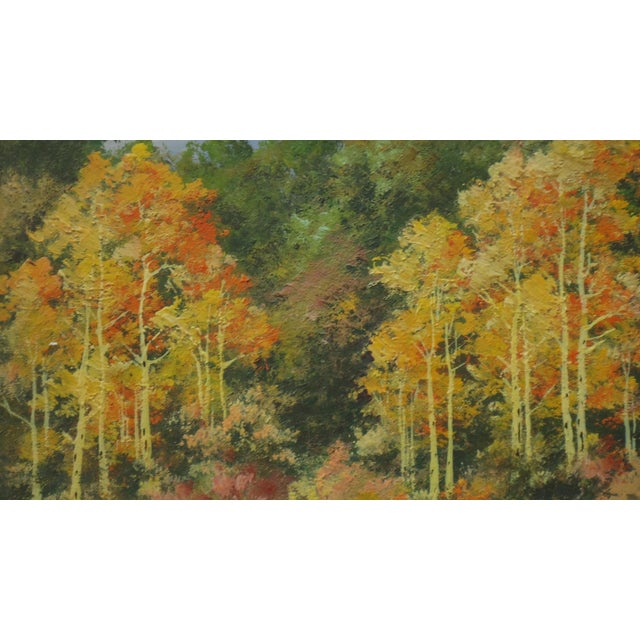 Willard Page Rocky Mountain Scene Painting For Sale - Image 6 of 8