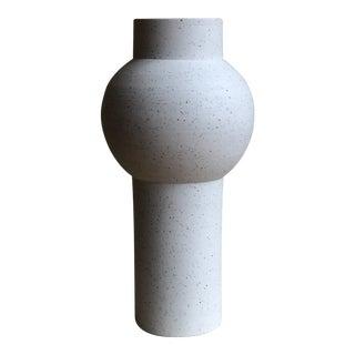White Ceramic Vessel Form 1