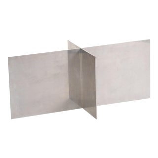 Paul Mayen Habitat Aluminum Coffee Table For Sale