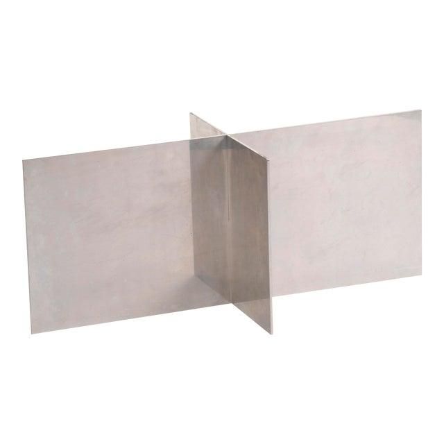 Paul Mayen Habitat Aluminum Coffee Table For Sale