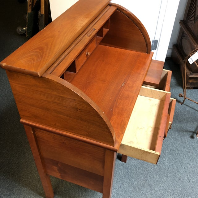 Antique Miniature Roll Top Desk For Sale In San Francisco - Image 6 of 11