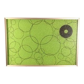 Vintage Atomic Green Electric Warming Tray