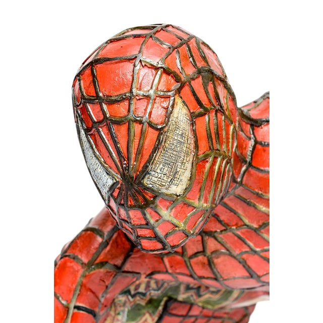 Domenico Pellegrino Spiderman Sculpture - Image 9 of 10