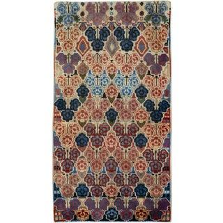"""Vintage Persian Tabriz Rug – Size: 2"""" X 3' 7"""" For Sale"""