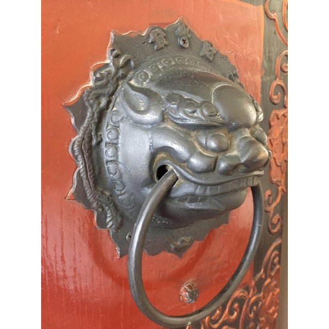 Antique Chinese Wooden Gate Doors - a Pair - Image 7 of 11