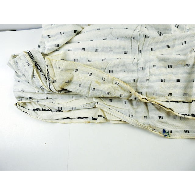 1950s Vintage Mission Valley Mills Cotton Pique - 2+ Yards For Sale - Image 5 of 7