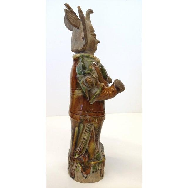 Chinese Sancai-Glazed Lokapala Figure For Sale - Image 5 of 10
