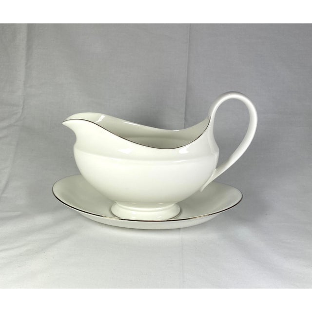 Wedgwood Gravy Boat & Saucer, Set of 2 For Sale - Image 11 of 11