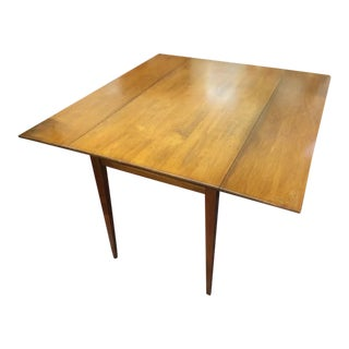1970s Country Hitchcock Cherry Breakfast Table For Sale