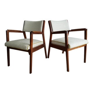 Upholstered Accent Chairs - a Pair