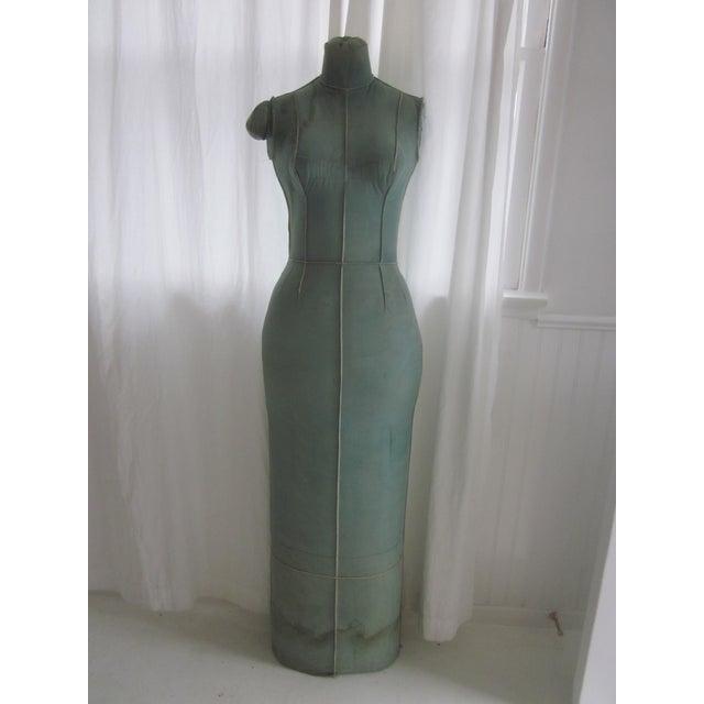 Unusual Full Body Antique Mannequin Form - Image 2 of 8