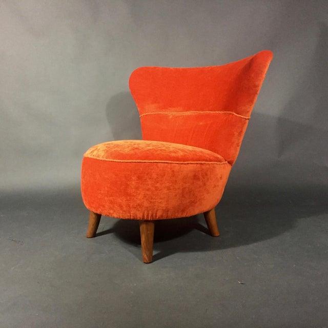 Easy Chair by Oskar Bernströms Möbelfabrik, Sweden 1950s For Sale - Image 10 of 10